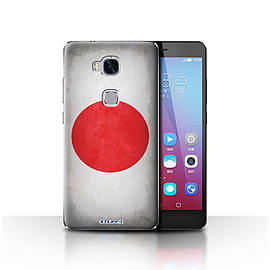 STUFF4 Case/Cover for Huawei Honor 5X/GR5 / Japan/Japanese Design / Flags Collection Mobile phones