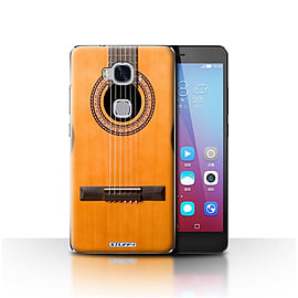 STUFF4 Case/Cover for Huawei Honor 5X/GR5 / Wood/Wooden Acoustic Design / Guitar Collection Mobile phones