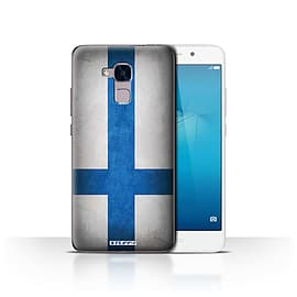 STUFF4 Case/Cover for Huawei Honor 5c / Finland/Finnish Design / Flags Collection Mobile phones