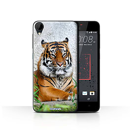 STUFF4 Case/Cover for HTC Desire 825 / Tiger Design / Wildlife Animals Collection Mobile phones