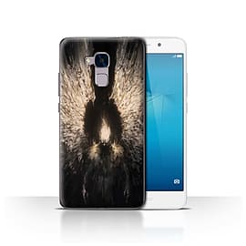 Official Chris Cold Case/Cover for Huawei Honor 5c/Zeriel's Light Design/Dark Art Demon Mobile phones