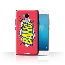 STUFF4 Case/Cover for Huawei Honor 5c / Bang! Design / Comics/Cartoon Words Collection Mobile phones