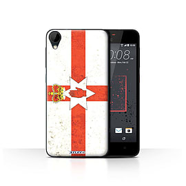 STUFF4 Case/Cover for HTC Desire 825 / Northern Ireland Design / Flags Collection Mobile phones