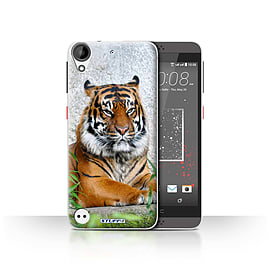 STUFF4 Case/Cover for HTC Desire 630 / Tiger Design / Wildlife Animals Collection Mobile phones