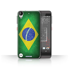 STUFF4 Case/Cover for HTC Desire 630 / Brazil/Brazilian Design / Flags Collection Mobile phones