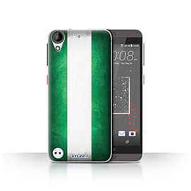 STUFF4 Case/Cover for HTC Desire 630 / Nigeria/Nigerian Design / Flags Collection Mobile phones