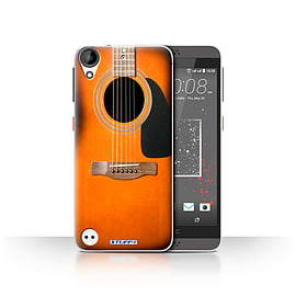 STUFF4 Case/Cover for HTC Desire 630 / Sunburst Acoustic Design / Guitar Collection Mobile phones