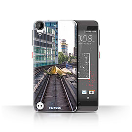 STUFF4 Case/Cover for HTC Desire 630 / Slippery Tracks Design / Imagine It Collection Mobile phones