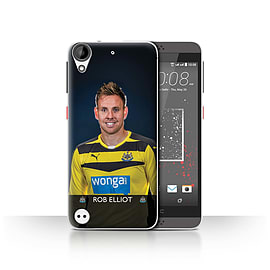 Official Newcastle United FC Case/Cover for HTC Desire 630/Elliot Design/NUFC Football Player 15/16 Mobile phones