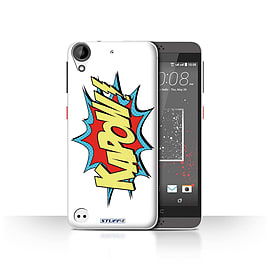 STUFF4 Case/Cover for HTC Desire 630 / Kapow! Design / Comics/Cartoon Words Collection Mobile phones