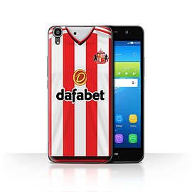 Official Sunderland AFC Case/Cover for Huawei Y6/Footballer Design/SAFC Home Shirt/Kit 15/16 Mobile phones