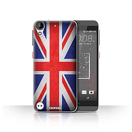 STUFF4 Case/Cover for HTC Desire 530 / Great Britain/British Design / Flags Collection Mobile phones