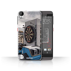 STUFF4 Case/Cover for HTC Desire 530 / Bullseye Design / Imagine It Collection Mobile phones