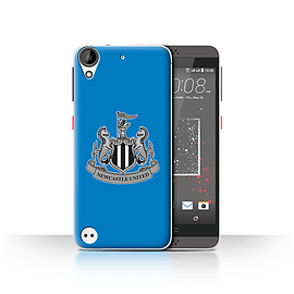 Official Newcastle United FC Case/Cover for HTC Desire 530/Mono/Blue Design/NUFC Football Crest Mobile phones