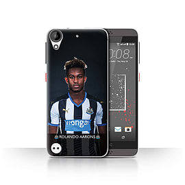 Official Newcastle United FC Case/Cover for HTC Desire 530/Aarons Design/NUFC Football Player 15/16 Mobile phones