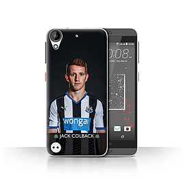 Official Newcastle United FC Case/Cover for HTC Desire 530/Colback Design/NUFC Football Player 15/16 Mobile phones