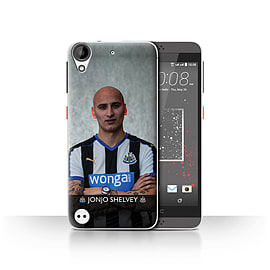 Official Newcastle United FC Case/Cover for HTC Desire 530/Shelvey Design/NUFC Football Player 15/16 Mobile phones