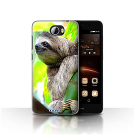 STUFF4 Case/Cover for Huawei Y5II/Y5 2 / Sloth Design / Wildlife Animals Collection Mobile phones