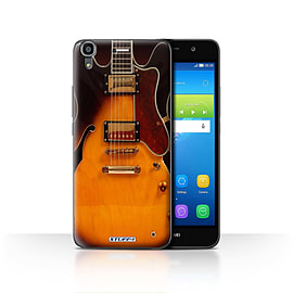 STUFF4 Case/Cover for Huawei Y6 / Semi Acoustic Design / Guitar Collection Mobile phones