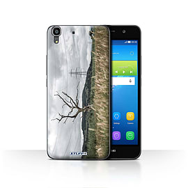 STUFF4 Case/Cover for Huawei Y6 / Electric Tree Design / Imagine It Collection Mobile phones