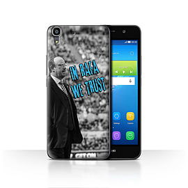 Official Newcastle United FC Case/Cover for Huawei Y6/We Trust Design/NUFC Rafa Ben?tez Mobile phones