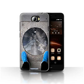 STUFF4 Case/Cover for Huawei Y5II/Y5 2 / Tunnel Vision Design / Imagine It Collection Mobile phones