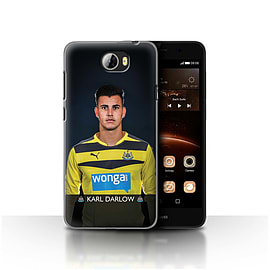 Newcastle United FC Case/Cover for Huawei Y5II/Y5 2/Darlow Design/NUFC Football Player 15/16 Mobile phones