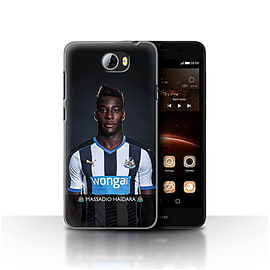 Newcastle United FC Case/Cover for Huawei Y5II/Y5 2/Ha?dara Design/NUFC Football Player 15/16 Mobile phones