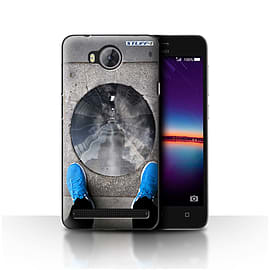 STUFF4 Case/Cover for Huawei Y3II/Y3 2 / Tunnel Vision Design / Imagine It Collection Mobile phones