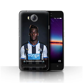 Newcastle United FC Case/Cover for Huawei Y3II/Y3 2/Ha?dara Design/NUFC Football Player 15/16 Mobile phones
