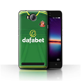 Official Sunderland AFC Case/Cover for Huawei Y3II/Y3 2/Footballer Design/SAFC Away Shirt/Kit 15/16 Mobile phones