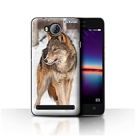 STUFF4 Case/Cover for Huawei Y3II/Y3 2 / Wolf Design / Wildlife Animals Collection Mobile phones