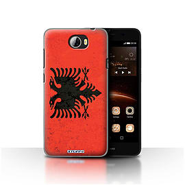 STUFF4 Case/Cover for Huawei Y5II/Y5 2 / Albania/Albanian Design / Flags Collection Mobile phones