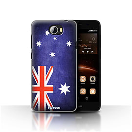 STUFF4 Case/Cover for Huawei Y5II/Y5 2 / Australia/Australian Design / Flags Collection Mobile phones