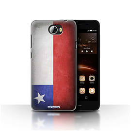 STUFF4 Case/Cover for Huawei Y5II/Y5 2 / Chile/Chiliean Design / Flags Collection Mobile phones