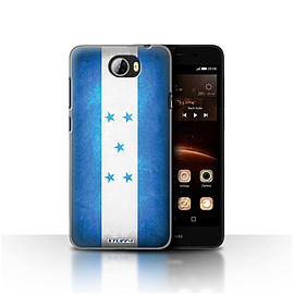 STUFF4 Case/Cover for Huawei Y5II/Y5 2 / Honduras/Honduran Design / Flags Collection Mobile phones