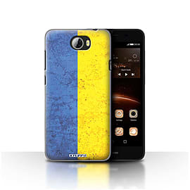 STUFF4 Case/Cover for Huawei Y5II/Y5 2 / Ukraine/Ukrainian Design / Flags Collection Mobile phones
