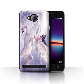 Official Elena Dudina Case/Cover for Huawei Y3II/Y3 2 / I Can Fly Design / Fantasy Angel Collection Mobile phones