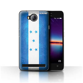 STUFF4 Case/Cover for Huawei Y3II/Y3 2 / Honduras/Honduran Design / Flags Collection Mobile phones