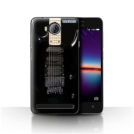 STUFF4 Case/Cover for Huawei Y3II/Y3 2 / Black Electirc Design / Guitar Collection Mobile phones