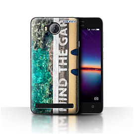 STUFF4 Case/Cover for Huawei Y3II/Y3 2 / Mind The Gap Design / Imagine It Collection Mobile phones