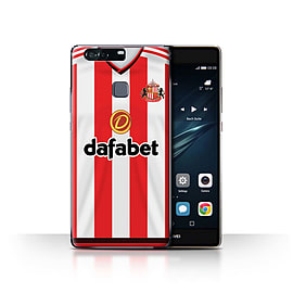 Official Sunderland AFC Case/Cover for Huawei P9 Plus/Footballer Design/SAFC Home Shirt/Kit 15/16 Mobile phones