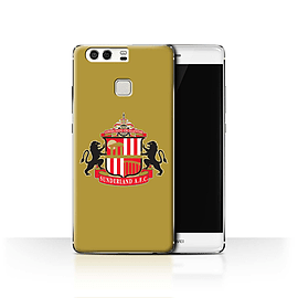 Official Sunderland AFC Case/Cover for Huawei P9 / Gold Design / SAFC Football Club Crest Collection Mobile phones