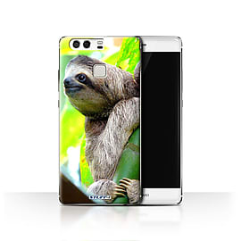 STUFF4 Case/Cover for Huawei P9 / Sloth Design / Wildlife Animals Collection Mobile phones