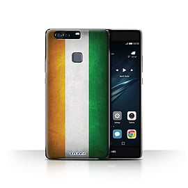 STUFF4 Case/Cover for Huawei P9 Plus / Ivory Coast Design / Flags Collection Mobile phones