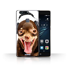STUFF4 Case/Cover for Huawei P9 Plus / Ridiculous Dog Design / Funny Animals Collection Mobile phones