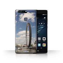 STUFF4 Case/Cover for Huawei P9 Plus / London Eye Design / Imagine It Collection Mobile phones