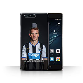 Official Newcastle United FC Case/Cover for Huawei P9 Plus/Colback Design/NUFC Football Player 15/16 Mobile phones