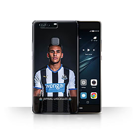 Newcastle United FC Case/Cover for Huawei P9 Plus/Lascelles Design/NUFC Football Player 15/16 Mobile phones