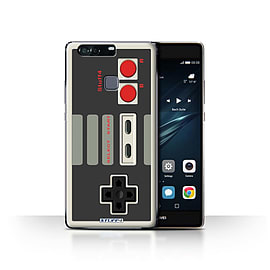 STUFF4 Case/Cover for Huawei P9 Plus / Nintendo Classic Design / Games Console Collection Mobile phones